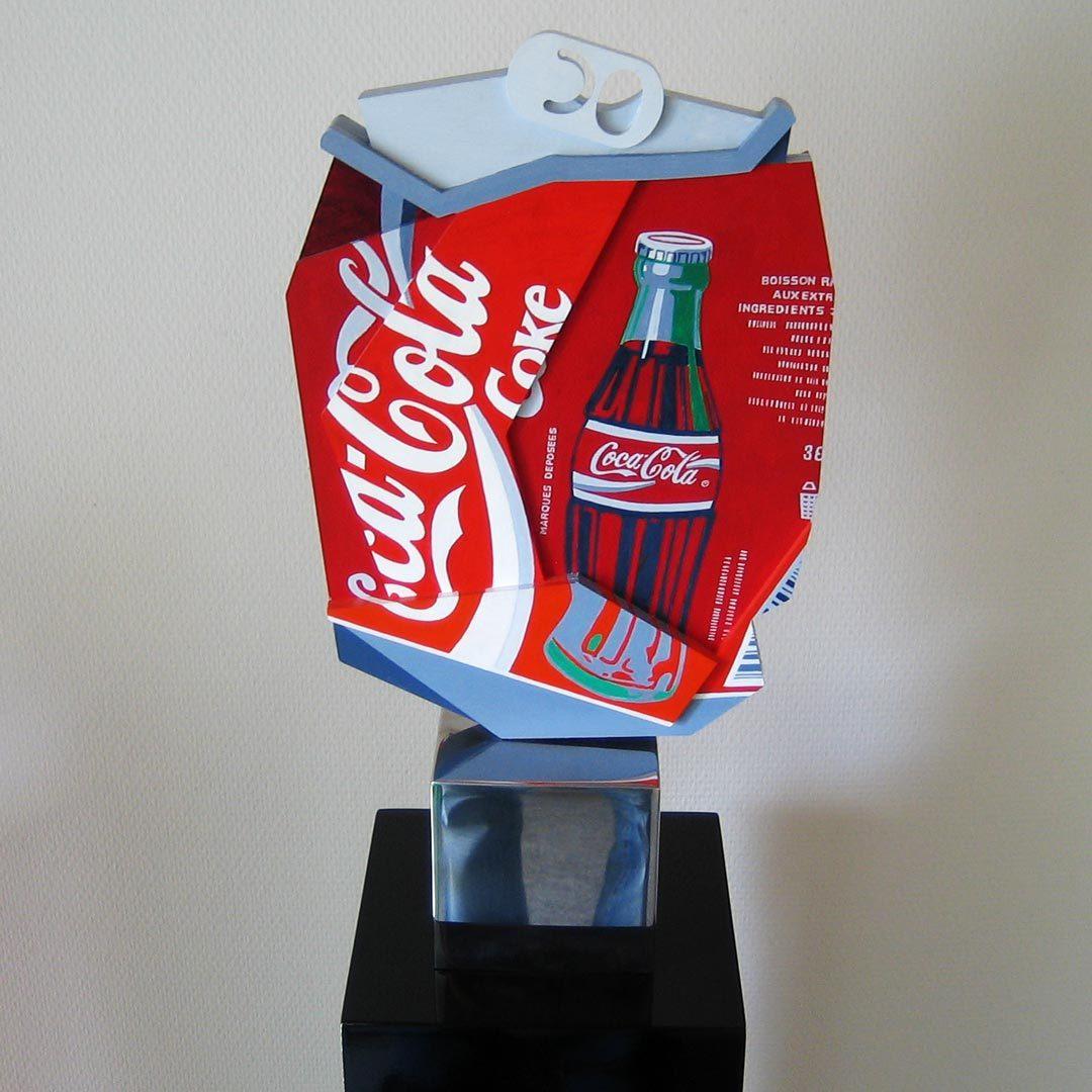 Cola sculpture